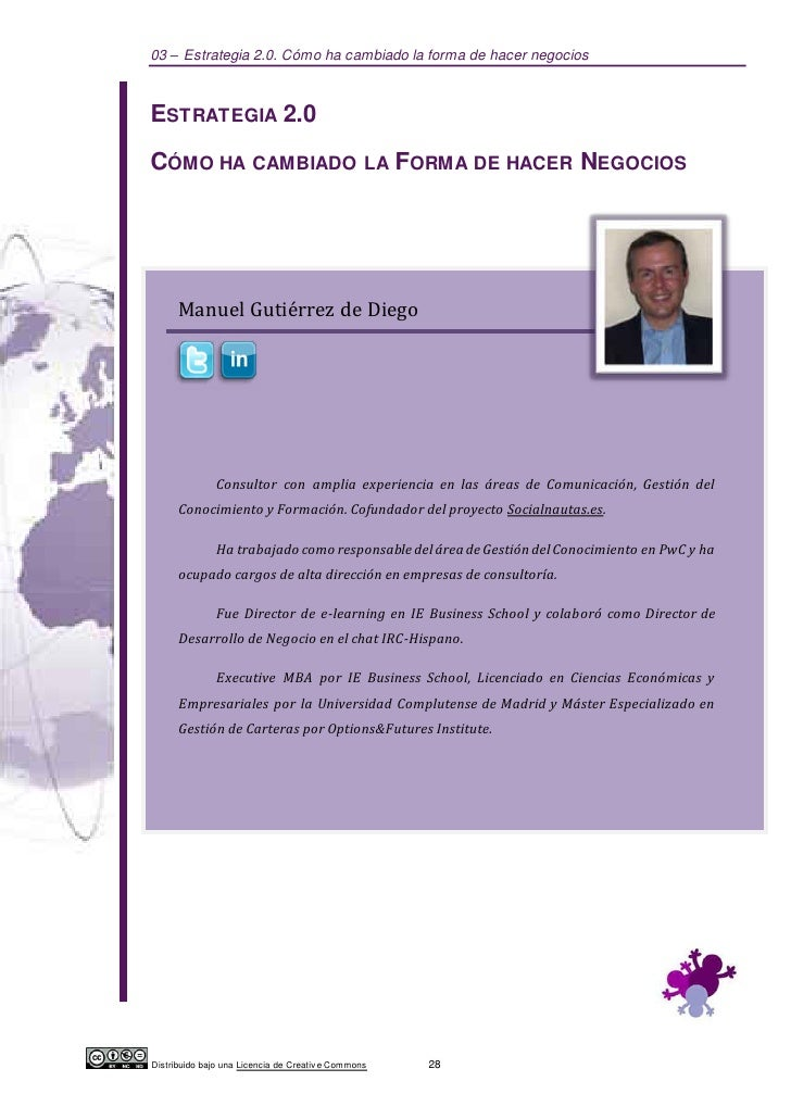 03 – Estrategia 2.0. Cómo ha cambiado la forma de hacer negociosESTRATEGIA 2.0CÓMO HA CAMBIADO LA FORMA DE HACER NEGOCIOS ...