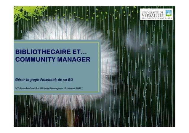 Au programme 14h30-15h30     - Les bases de Facebook : différencier un profil d'une page, les différents éléments d'un    ...