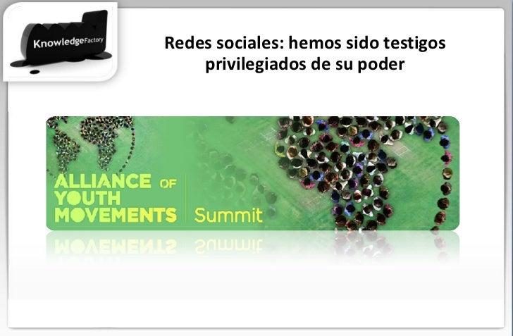 El nuevo campo de batalla Redes sociales: hemos sido testigos privilegiados de su poder