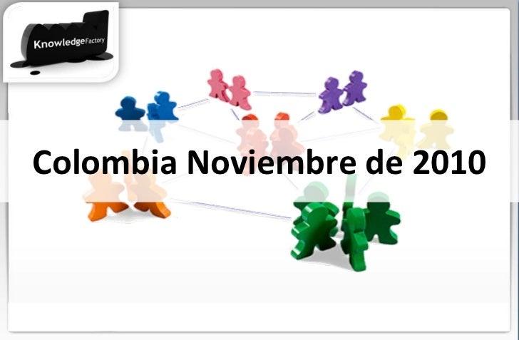 Colombia Noviembre de 2010