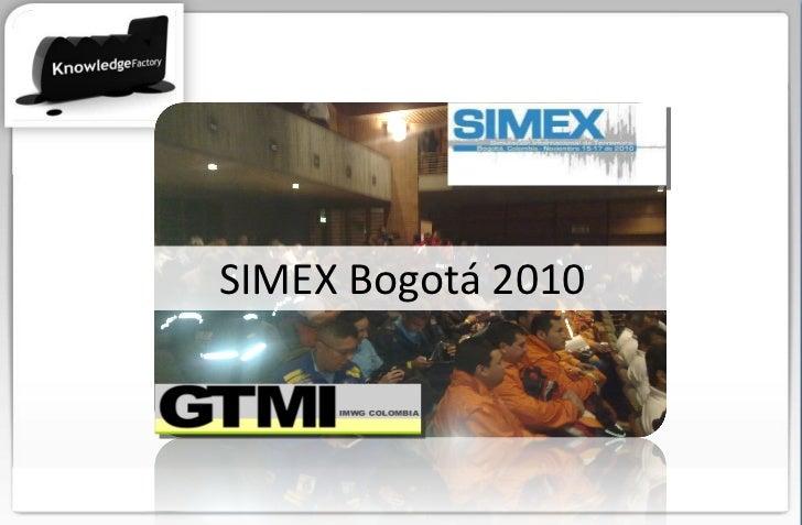 SIMEX Bogotá 2010