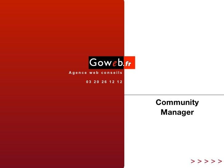 Agence web conseils        03 20 26 12 12                            Community                         Manager            ...