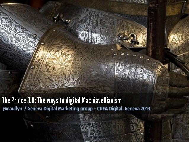 @naullyn / Geneva Digital Marketing Group – CREA Digital, Geneva 2013