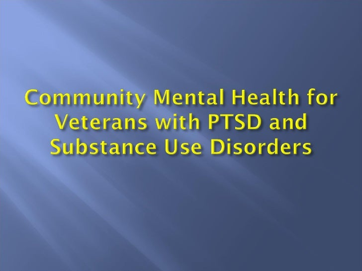    Over 35% of returned Iraq and Afghanistan    veterans in VA care have received mental    health diagnoses.   OIF/OEF ...
