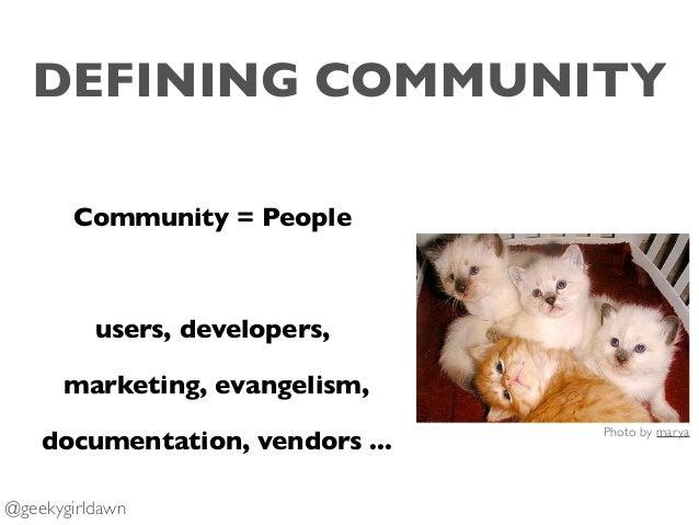 Building a Community Metrics Strategy FOSDEM 2019 Slide 3