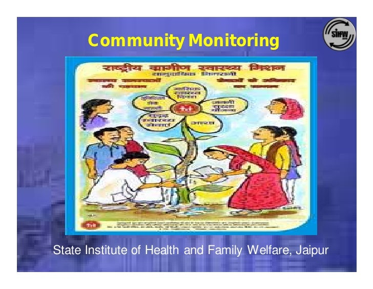 Community Monitoring     State Institute of Health and Family Welfare, Jaipur