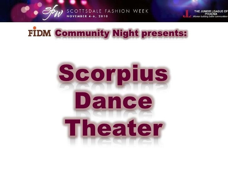Community Night<br />Presented by<br />