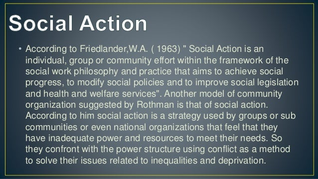 • A core goal of community organizing is to generate durable power for an organization representing the community, allowin...