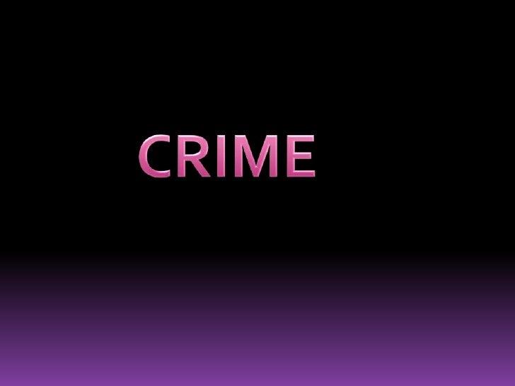 CRIME<br />