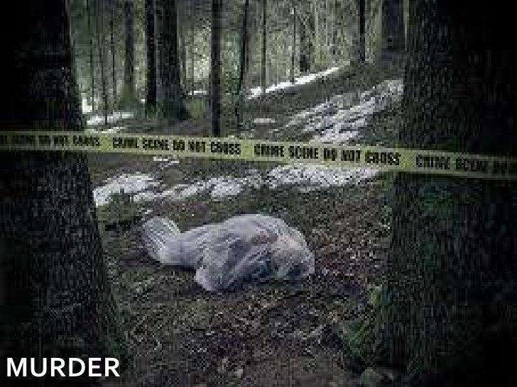 MURDER<br />