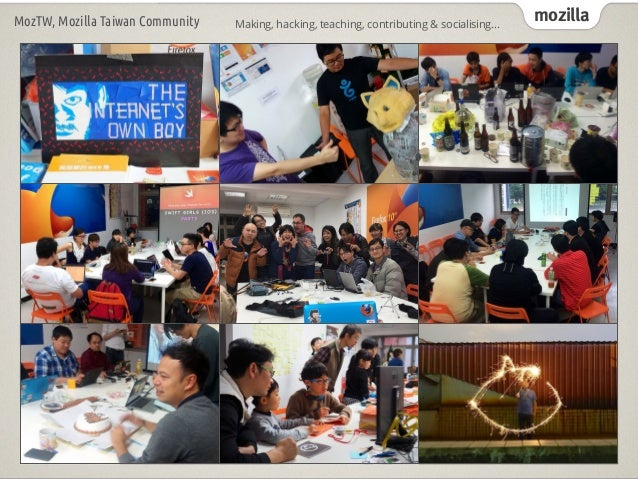 Mozilla Community Space Taipei - Status Report - 201609