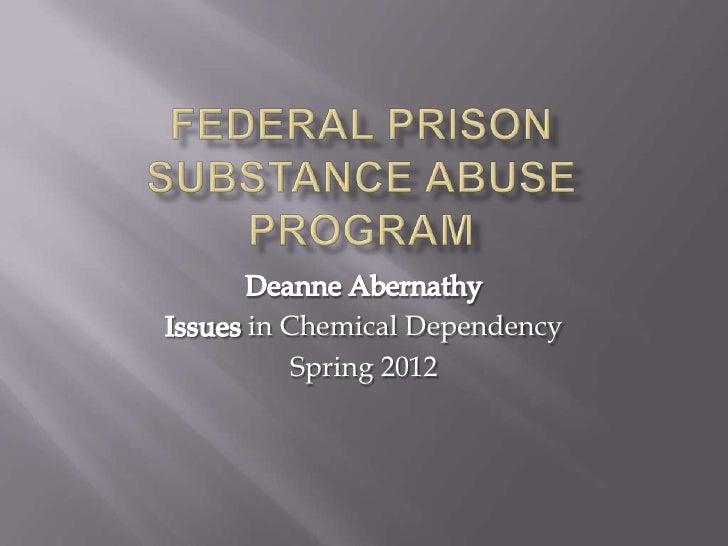in Chemical Dependency    Spring 2012
