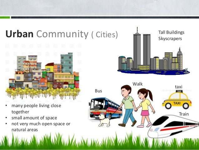 compare urban and rural communities lessons tes teach