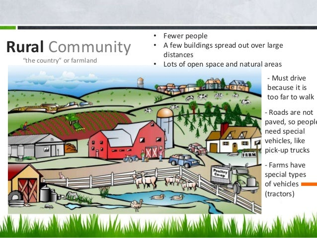 types of rural communities Home » information center » rural information center » a guide to funding resources  rural community  the federal government administers several types of .