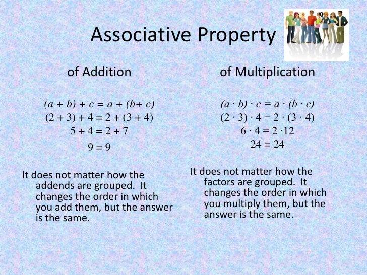 Commutative And Associative Properties