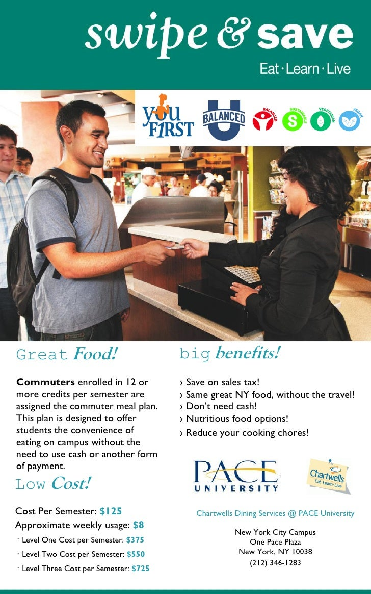 Great Food!                             big benefits!Commuters enrolled in 12 or             ›   Save on sales tax!more cr...