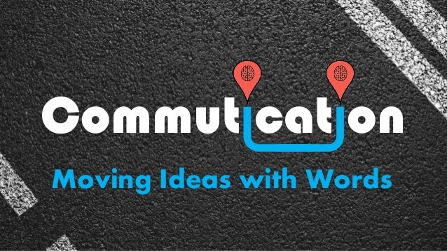 Commut cat on Moving Ideas with Words
