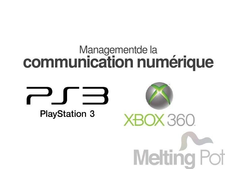 Managementde la <br />communication numérique<br />