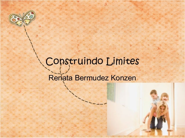 Renata Bermudez Konzen Construindo Limites