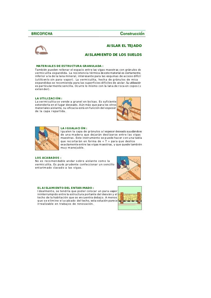 Como aislar el techo termica y acusticamente.pdf