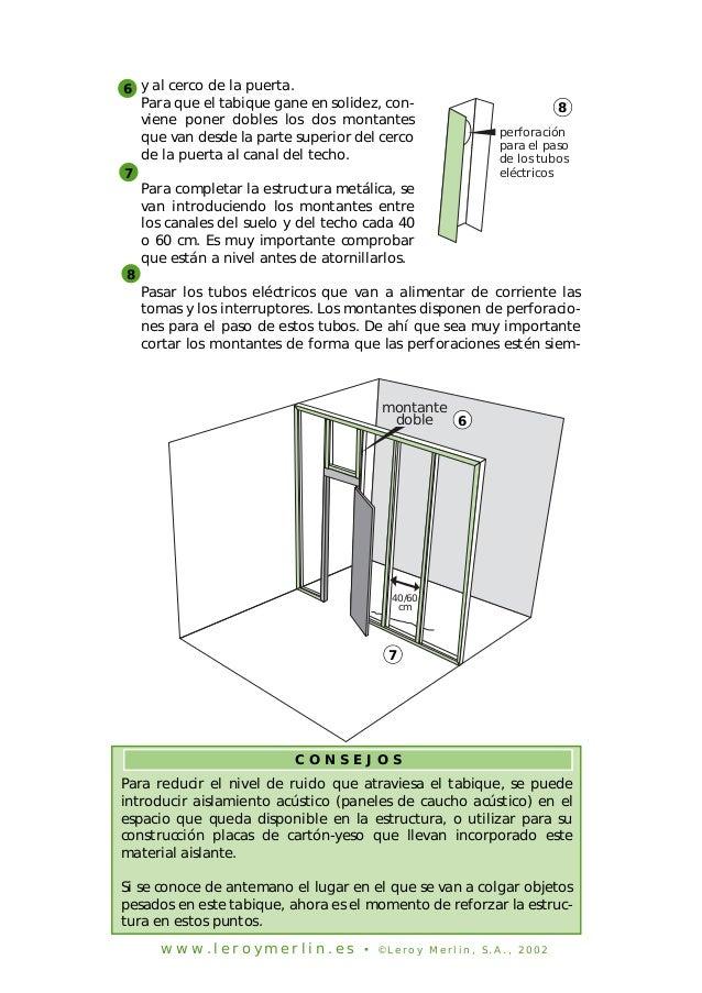 Como aplicar placas de yeso en techos y paredes - Como hacer placas de yeso ...