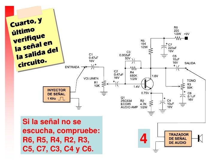 Circuito Yes : Como comprobar un circuito amplificador de audio