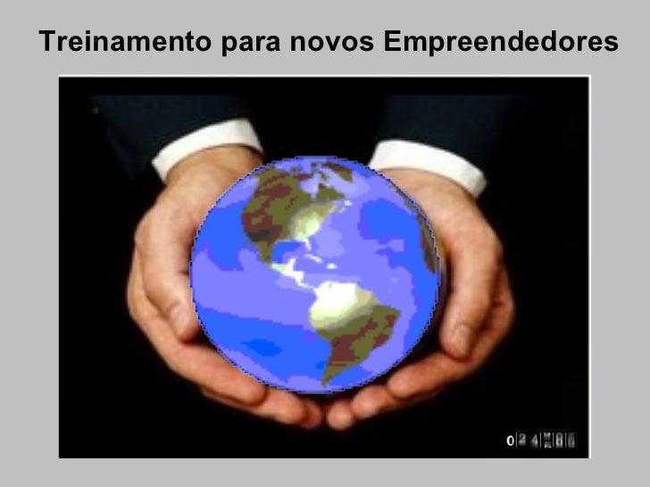 Treinamento para novos Empreendedores