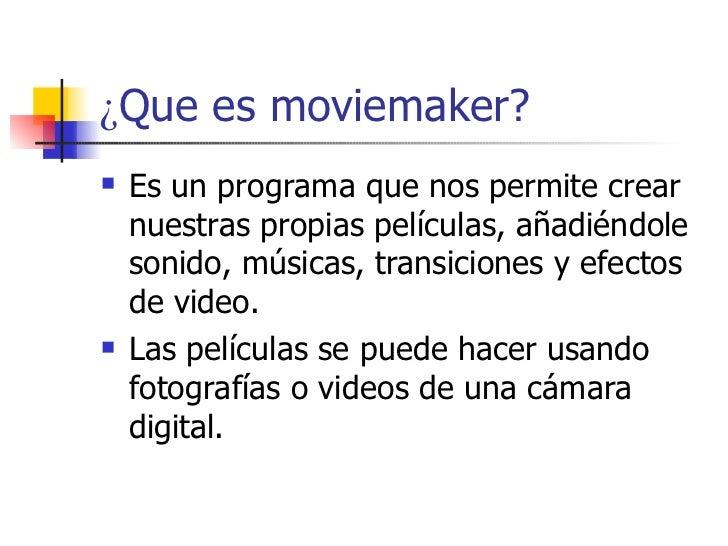 Como Crear Un Video FotográFico Usando Moviemaker Slide 2