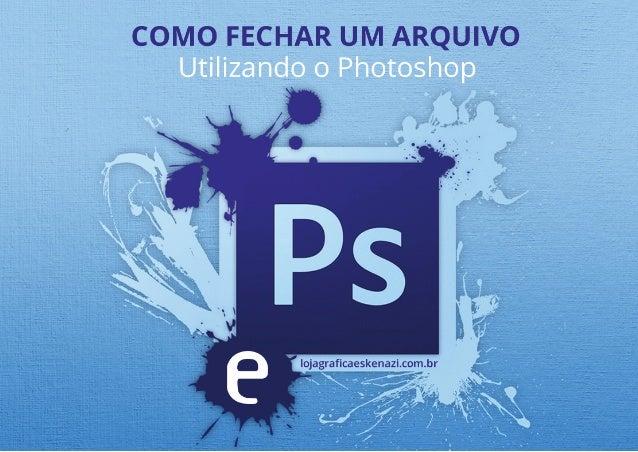 Revise sua arte antes de fechar o seu arquivo no Photoshop. Dicas do que revisar em seu cartão: • Formato (Medida) do cart...