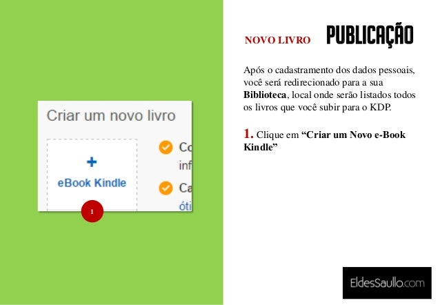PUBLICAÇÃO Após o cadastramento dos dados pessoais, você será redirecionado para a sua Biblioteca, local onde serão listad...