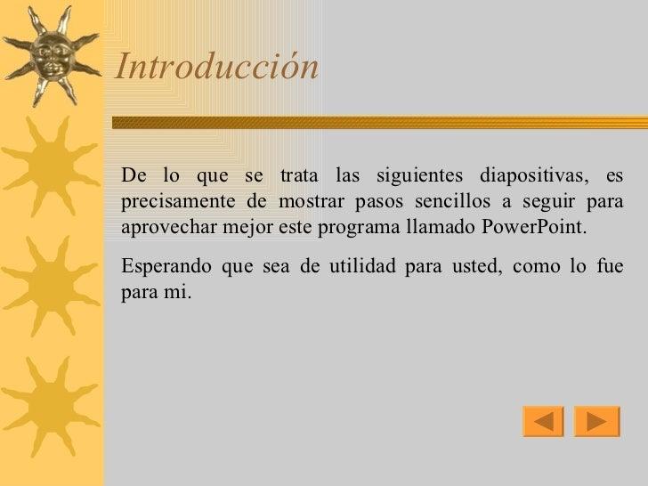 COMO HACER DIAPOSITIVAS Slide 2
