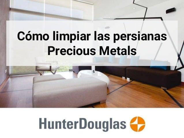 C mo limpiar las persianas precious metals - Como limpiar la mampara ...