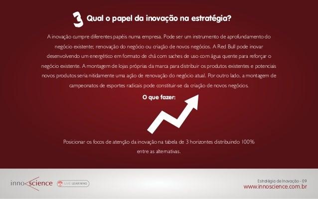 A inovação cumpre diferentes papéis numa empresa. Pode ser um instrumento de aprofundamento do negócio existente; renovaçã...