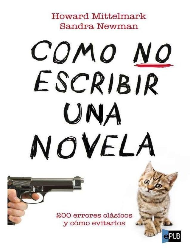 Como no-escribir-una-novela