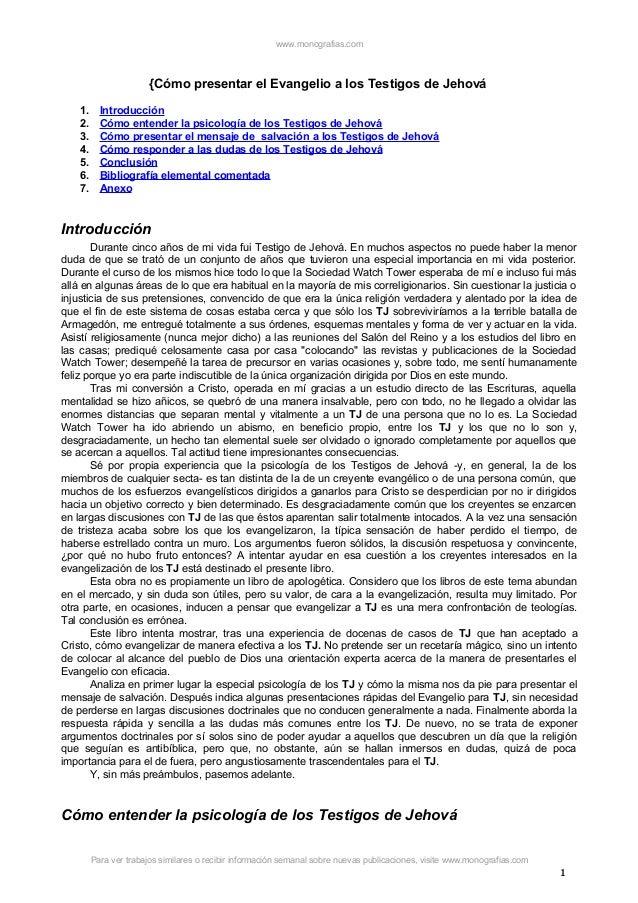 Los Hechos Acerca De Los Testigos De Jehova (Facts on) (Spanish Edition)