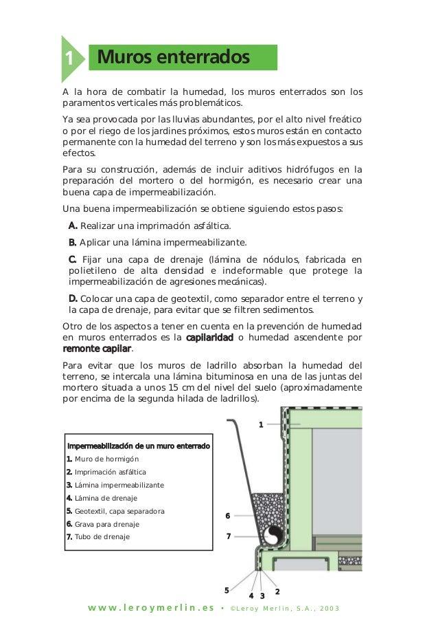 Como prevenir y proteger la casa de humedad - Como evitar la humedad en casa ...