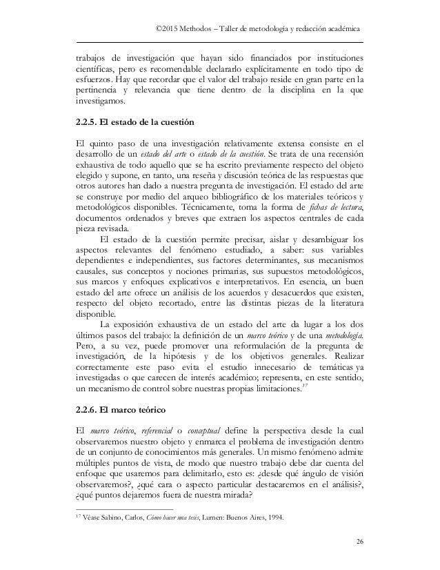 Como se hace un trabajo academico for Haces falta trabajo barcelona