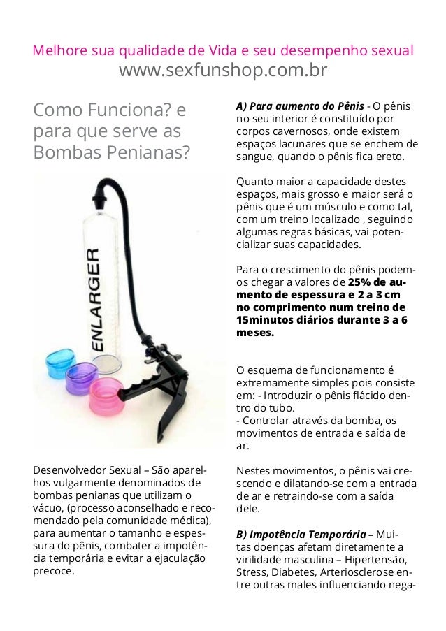 Melhore sua qualidade de Vida e seu desempenho sexual                www.sexfunshop.com.brComo Funciona? e                ...