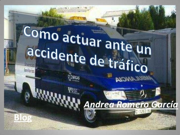 Andrea Romero GarcíaBlog                        1