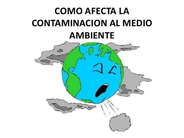 Como afecta la contaminacion al medio ambiente - Como humidificar el ambiente ...