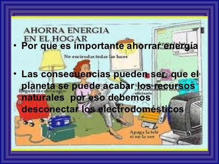Como Ahorrar Energia Electrica En Casa. Affordable La Propuesta ...