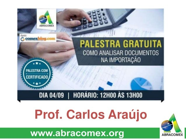Prof. Carlos Araújo