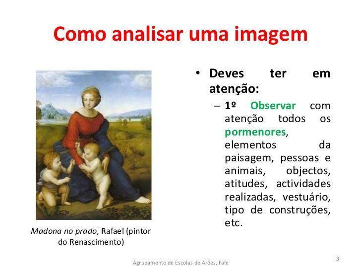 Como analisar uma imagem Slide 3