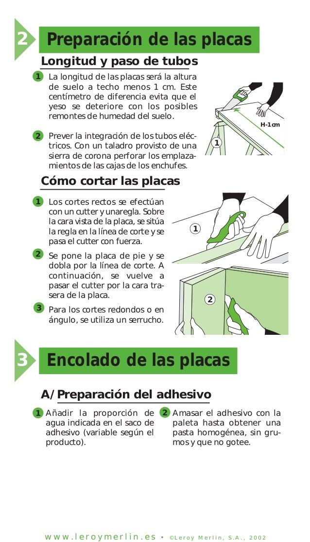 Como aplicar placas de yeso en techos y paredes 1 - Placas de yeso para techos ...