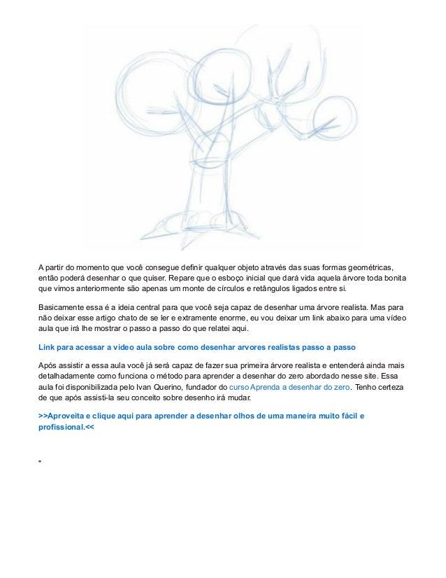 Como Desenhar Arvores Realistas