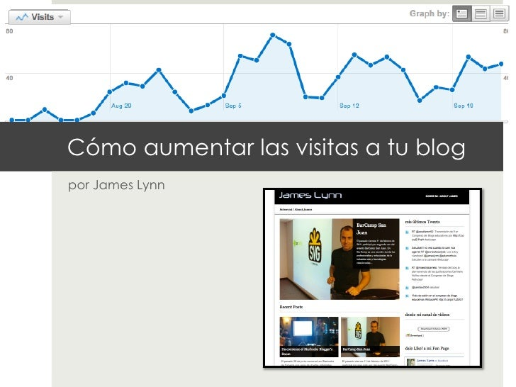 Cómo aumentar las visitas a tu blogpor James Lynn