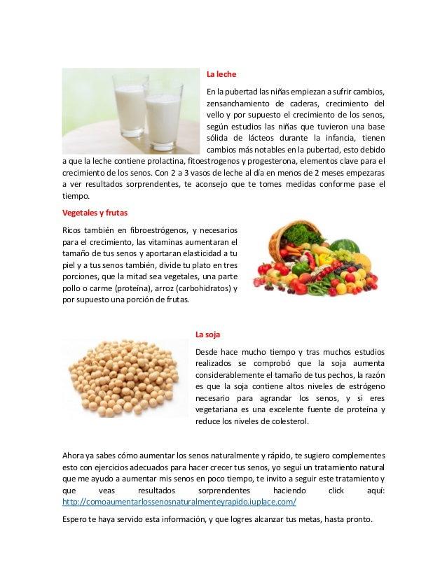 como aumentar los senos naturalmente y rápido - alimentos para aument…