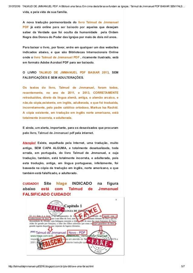 Portugues pdf em talmud