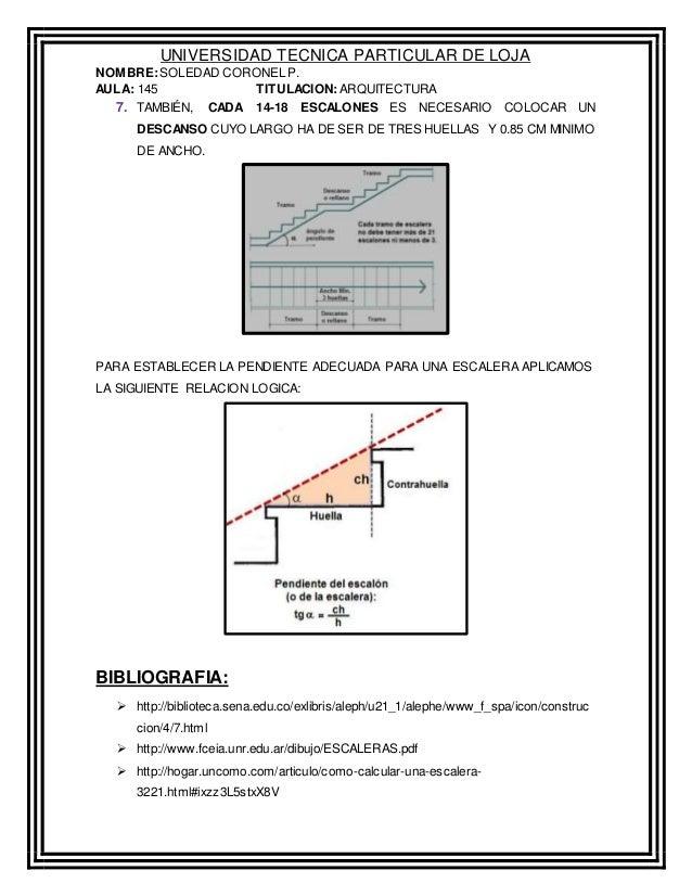 Como calcular una escalera for Como hacer escalones