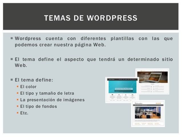 Como cambiar un tema de wordpress